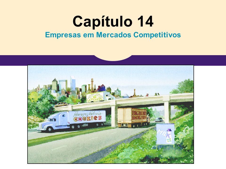 Capítulo 14 Empresas em Mercados Competitivos