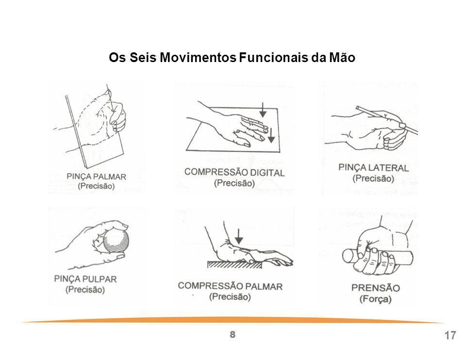 8 17 Os Seis Movimentos Funcionais da Mão