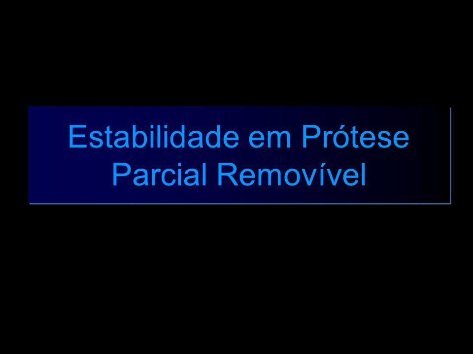 Estabilidade em Prótese Parcial Removível