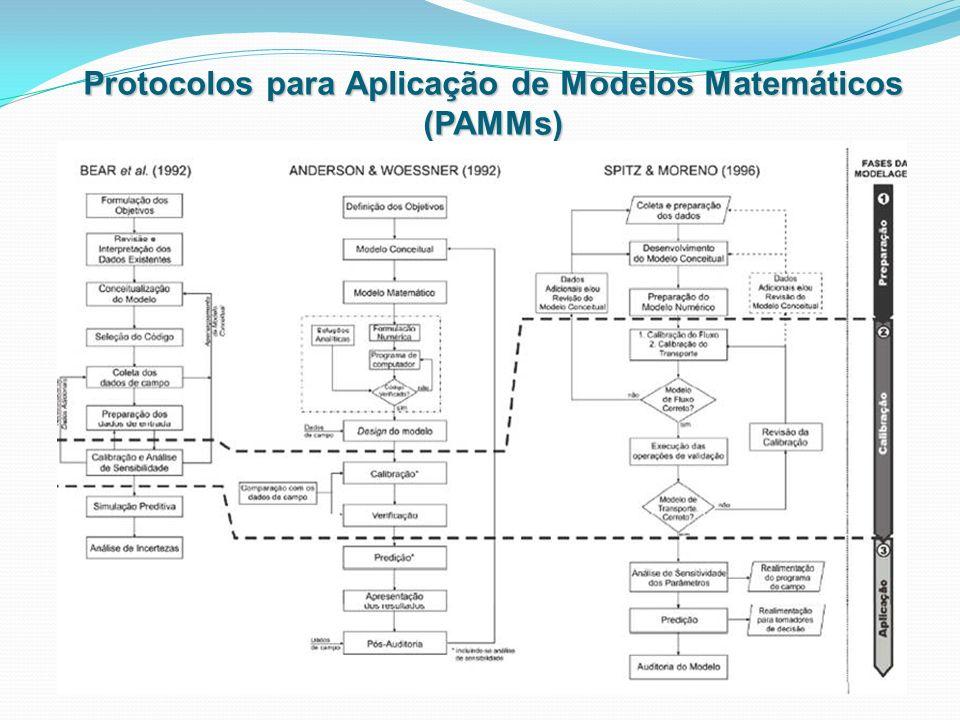 Protocolos para Aplicação de Modelos Matemáticos (PAMMs)