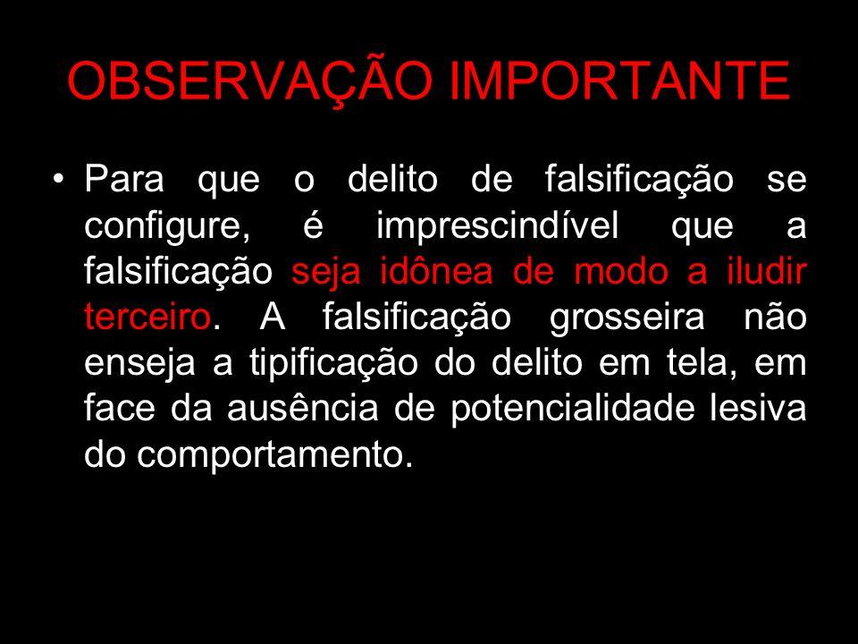 PREVISÃO DE INFRAÇÃO PENAL CAPITULO III, ARTIGOS 297 a 305, com especial atenção para os artigos 297, 298 e 299, tudo do Código Penal Brasileiro.