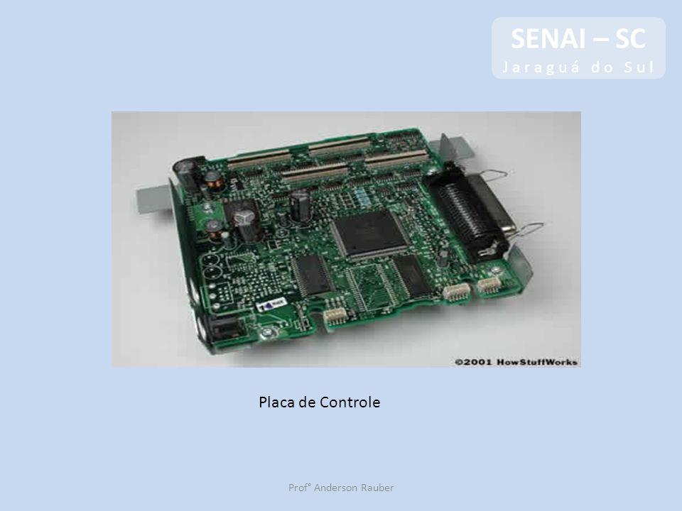 SENAI – SC J a r a g u á d o S u l SENAI – SC J a r a g u á d o S u l Prof° Anderson Rauber Placa de Controle