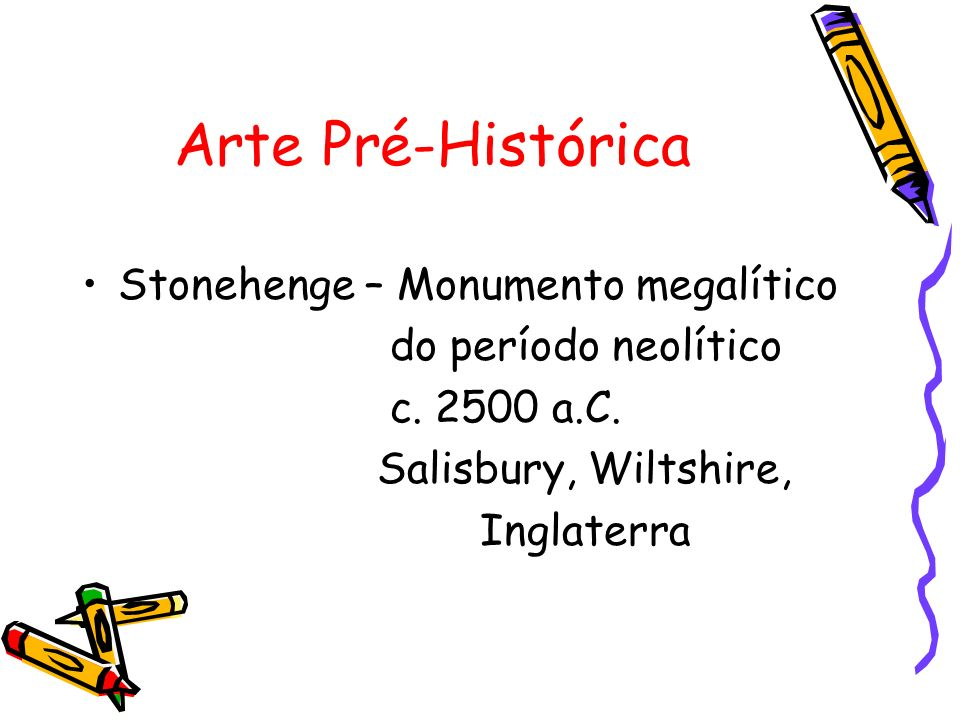 Arte Pré-Histórica Stonehenge – Monumento megalítico do período neolítico c. 2500 a.C. Salisbury, Wiltshire, Inglaterra