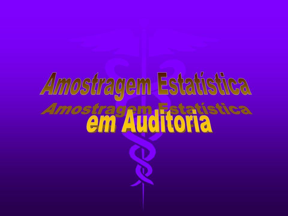 Seleção Aleatória O Auditor seleciona suas amostras utilizando uma tabela de números aleatórios, a fim de tornar a seleção isenta de critérios subjetivos (ASSIS, 1997 p.8) (ASSIS, 1997 p.8)