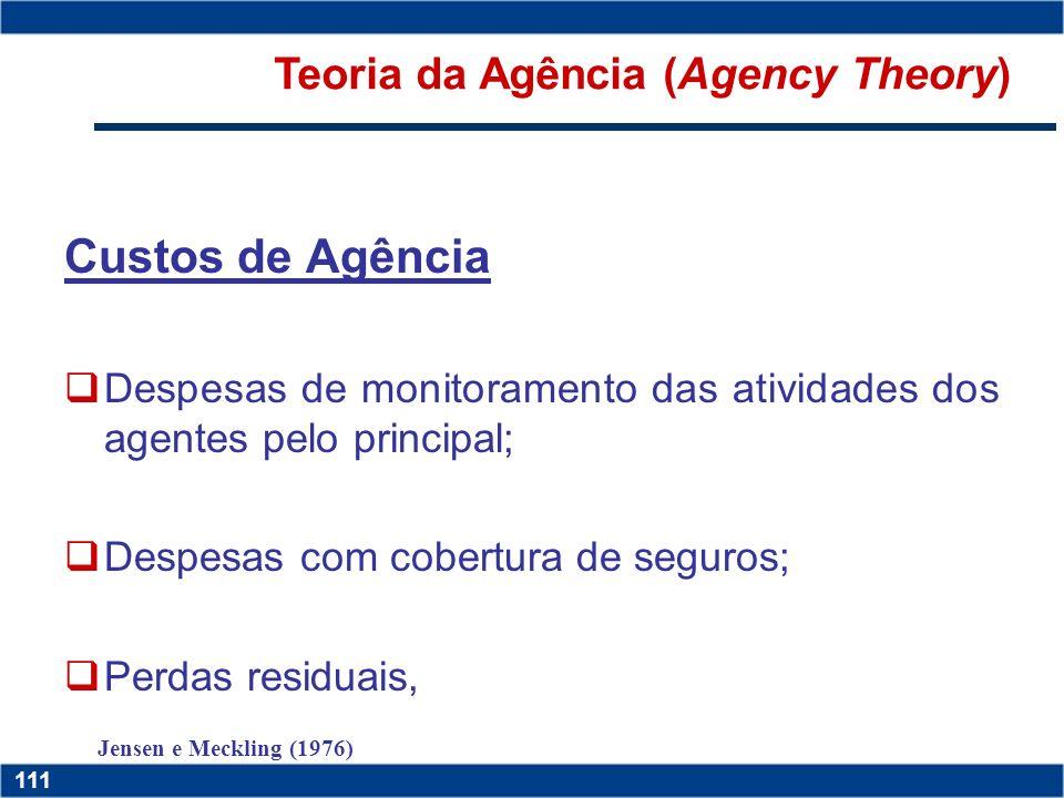 Copyright © 2006 by Pearson Education 15-110 110 Copyright © 2006 by Pearson Education 15-110 110 Conflitos de Interesses Os executivos (agentes) pode