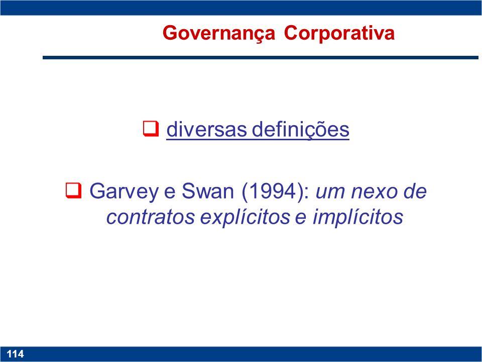Copyright © 2006 by Pearson Education 15-113 113 Minimização dos problemas de agência Uma das maneiras de minimizar a assimetria de informações entre