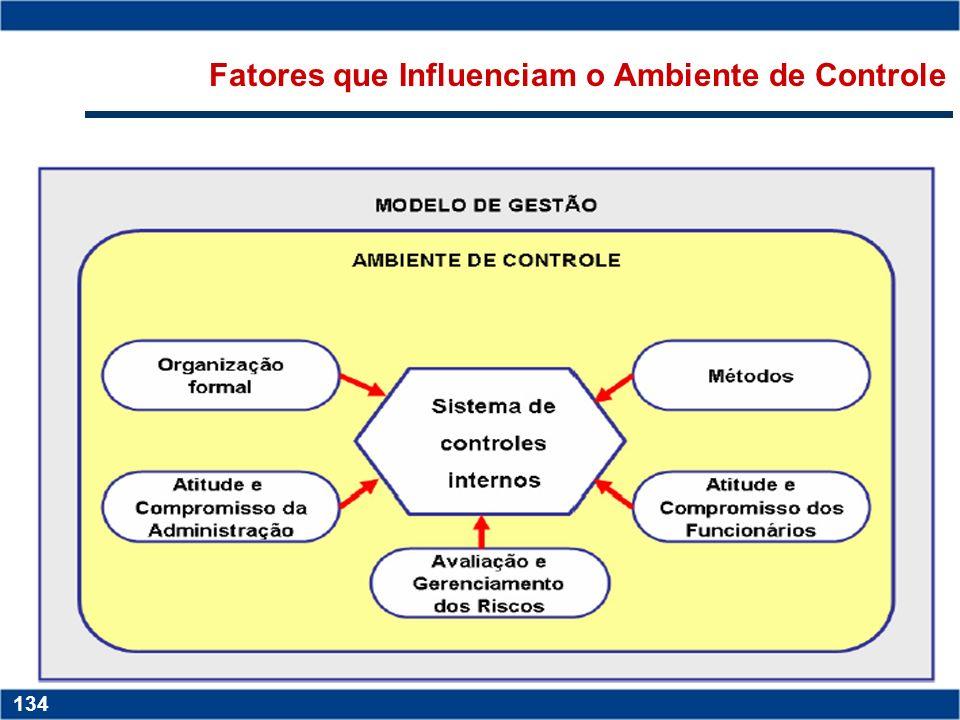 Copyright © 2006 by Pearson Education 15-133 133 Copyright © 2006 by Pearson Education 15-133 133 Ambiente de Controle Reflete as crenças e os valores