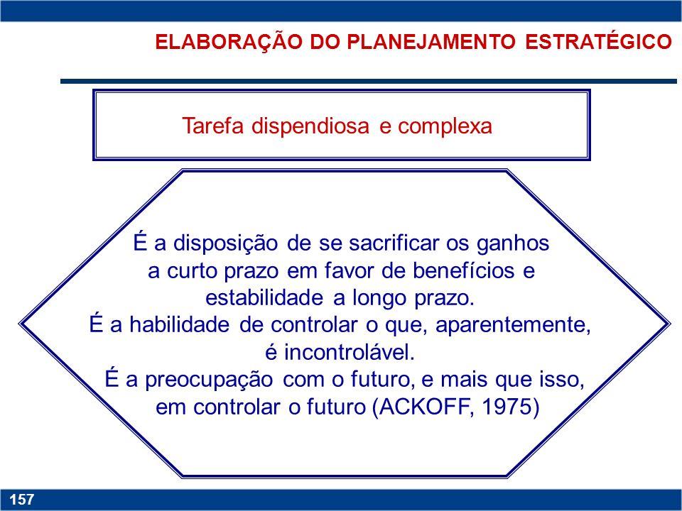 Copyright © 2006 by Pearson Education 15-156 156 ADMINISTRAÇÃO ESTRATÉGICA Ferramental de gestão, usado pelas organizações para se manterem permanente