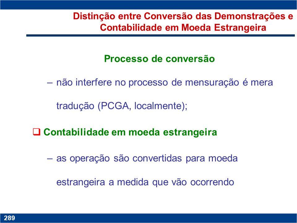 Copyright © 2006 by Pearson Education 15-288 288 4.Preparar dois jogos de demonstrações financeiras: um usando o idioma, padrão monetário e princípios