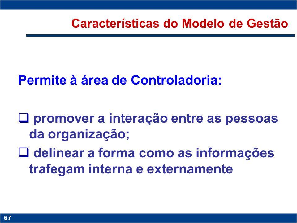 Copyright © 2006 by Pearson Education 15-66 66 Copyright © 2006 by Pearson Education 15-66 66 Características do Modelo de Gestão Determina as linhas