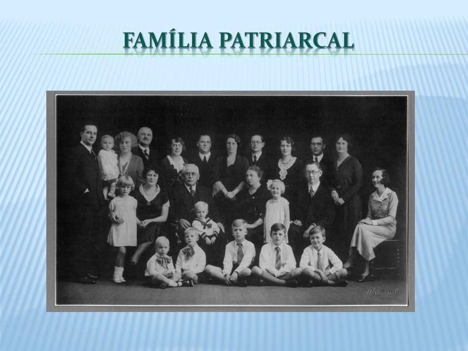 O início do século XIX apresenta com clareza a família constituída da seguinte forma: Hierarquizada; Poder familiar organizado em torno do Pai; Pai, mãe e filhos morando na mesma casa; O Pai – provedor da casa, Mãe – cuida dos filhos
