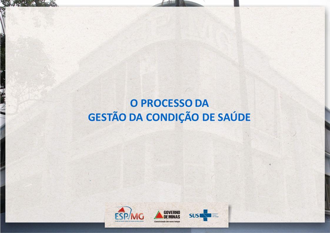 O PROCESSO DA GESTÃO DA CONDIÇÃO DE SAÚDE