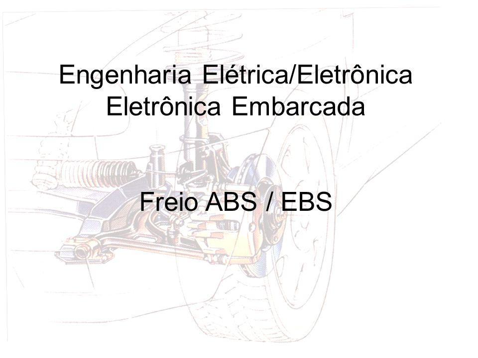 Engenharia de Produção Freio hidráulico e ABS Introdução a Engenharia Equipe: Alex Fonseca Lenadro Engenharia Elétrica/Eletrônica Eletrônica Embarcada