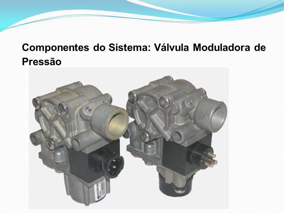 Componentes do Sistema: Válvula Moduladora de Pressão