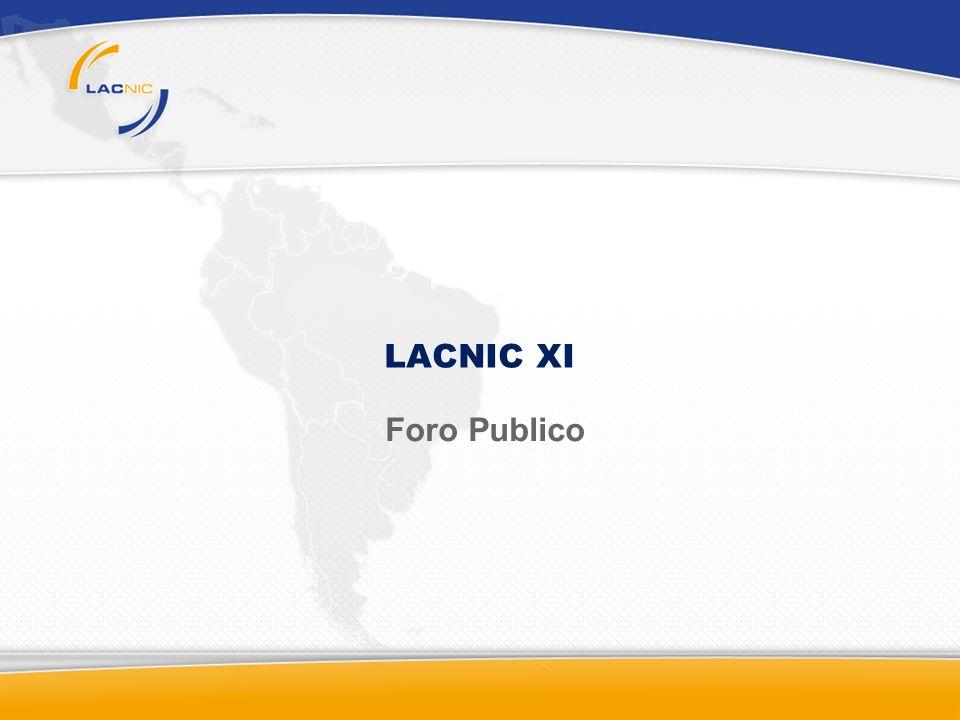LACNIC XI Foro Publico