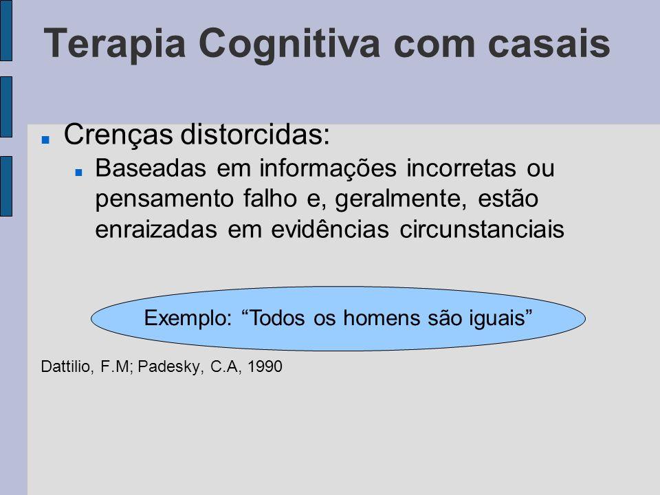 Referência Bibliográfica Dattilio, F.M; Padesky, C.A.