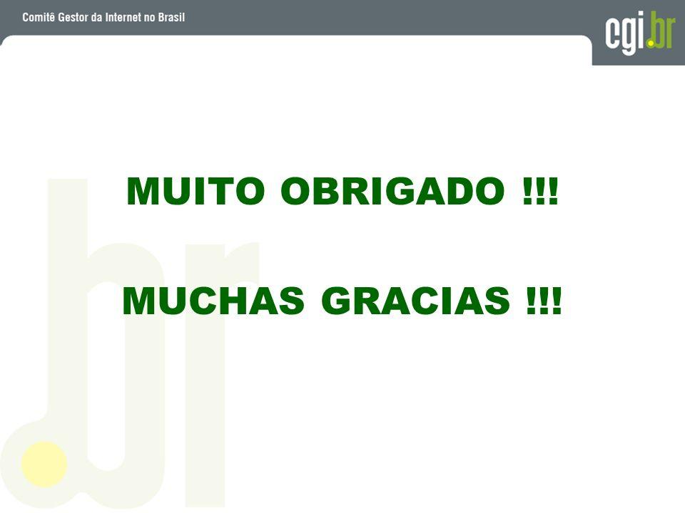 MUITO OBRIGADO !!! MUCHAS GRACIAS !!!