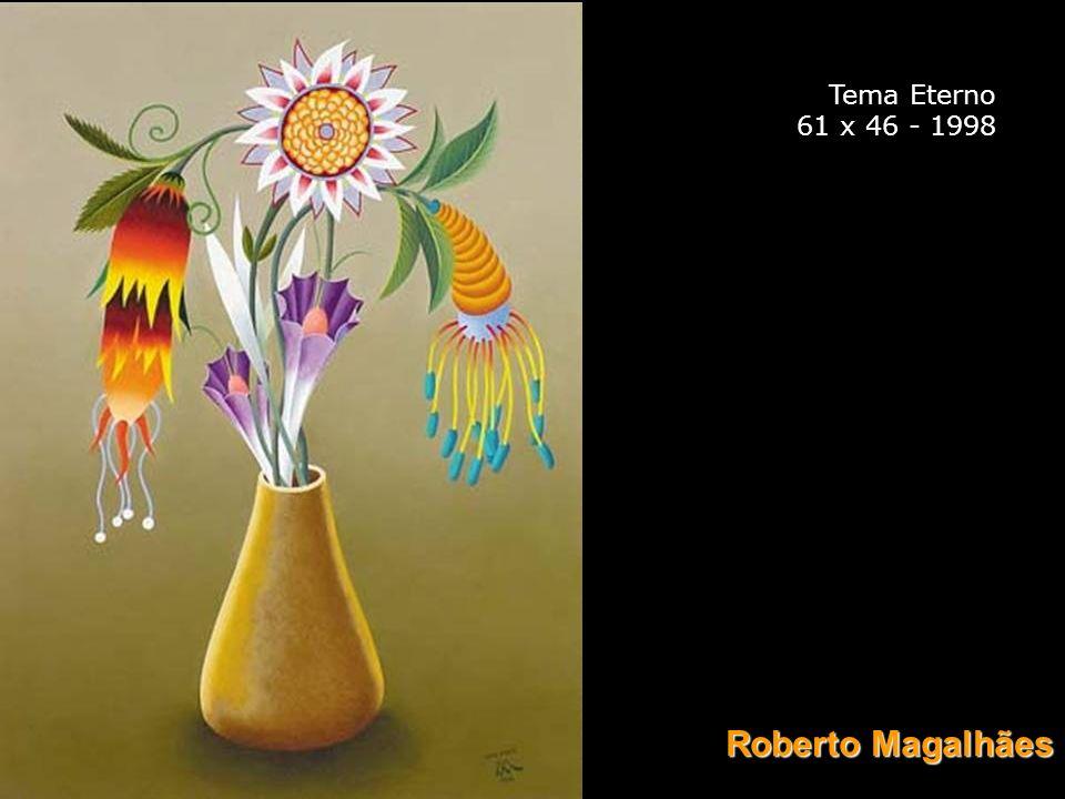 Tema Eterno 61 x 46 - 1998 Roberto Magalhães