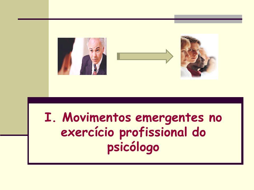 3-Natureza da intervenção: (2) Na realidade, as transformações em curso não implicam em eliminar o atendimento individual quando isto se faz, efetivamente necessário.