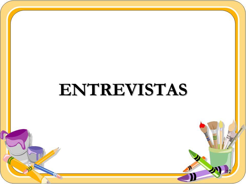 12 ENTREVISTAS