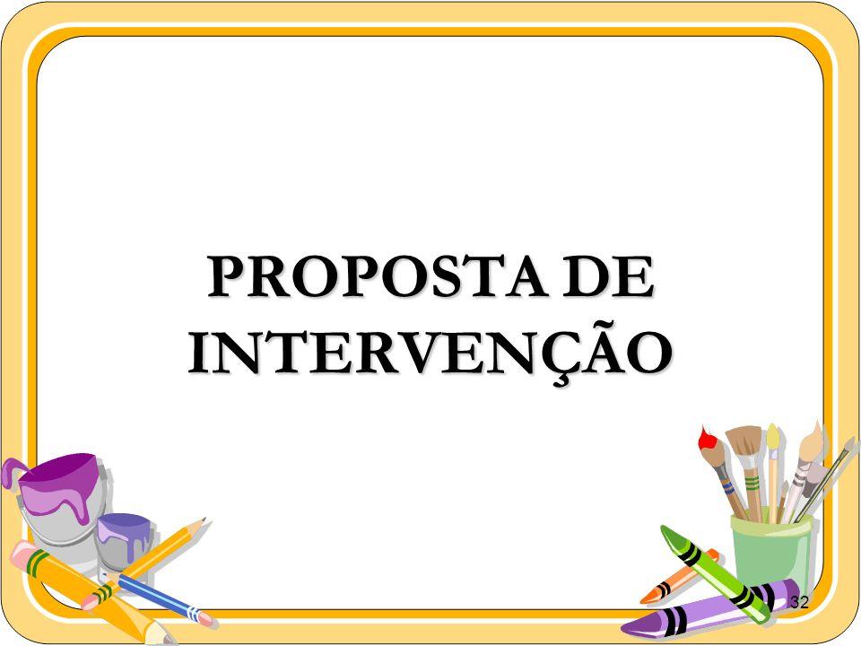 32 PROPOSTA DE INTERVENÇÃO