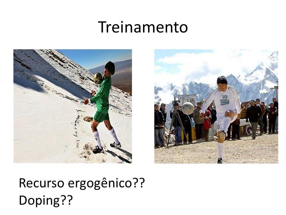 Treinamento Recurso ergogênico?? Doping??