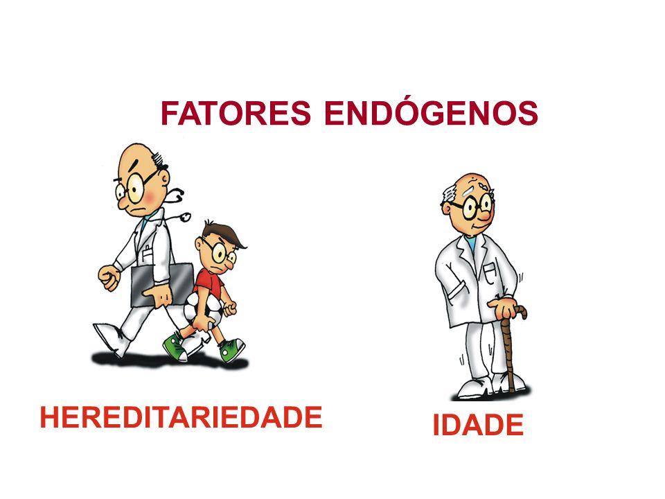 HEREDITARIEDADE IDADE FATORES ENDÓGENOS