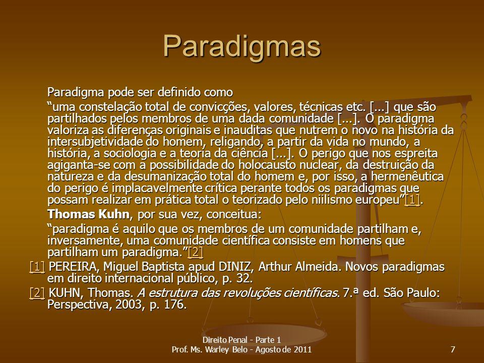 Licença prévia (Imunidade processual) Presidente Presidente Governadores Governadores 58 Direito Penal - Parte 1 Prof.