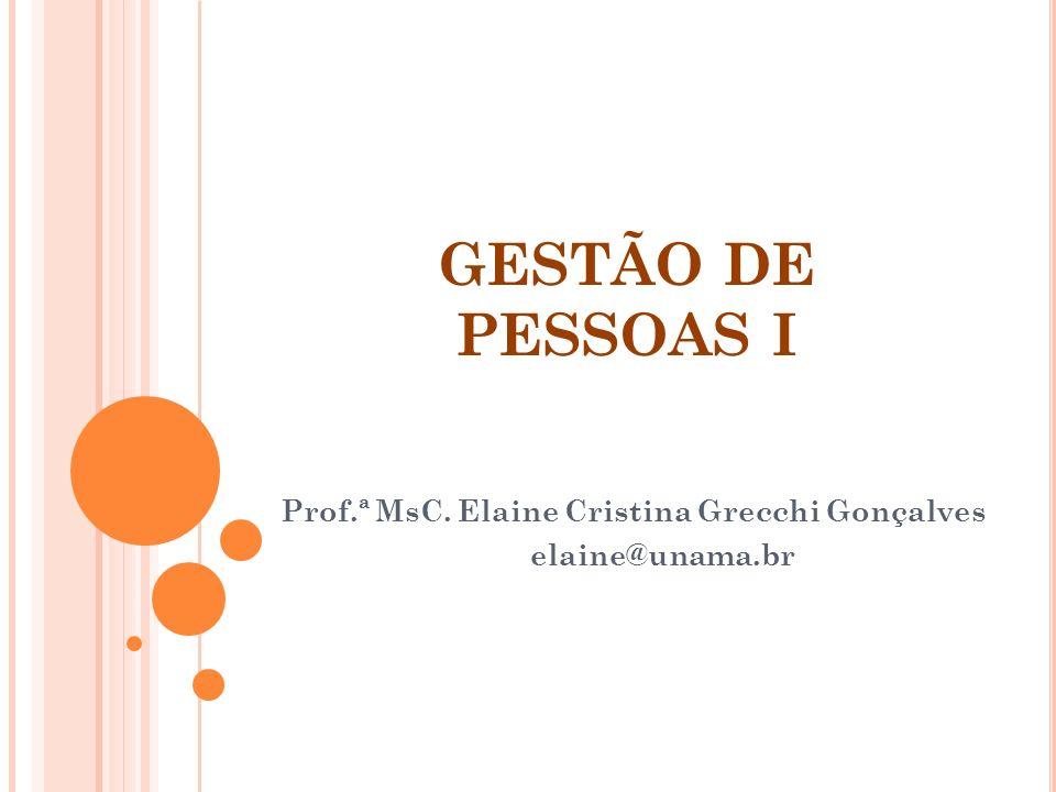 Profª MsC.