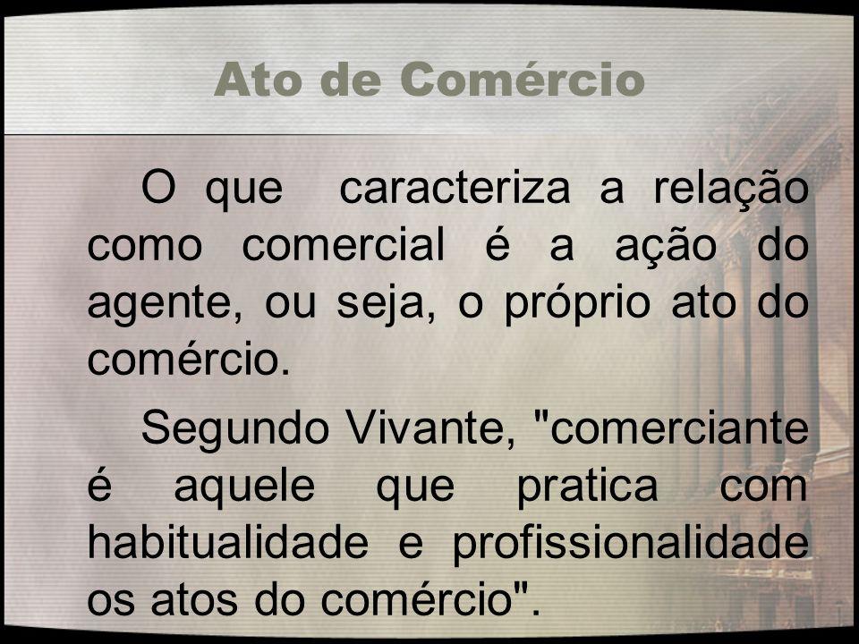 Direito Empresarial A terceira fase é a empresarial, a fase subjetiva moderna de origem italiana adotada pelo Código Civil Brasileiro, cujo conteúdo vem sendo construído nos últimos cem anos.