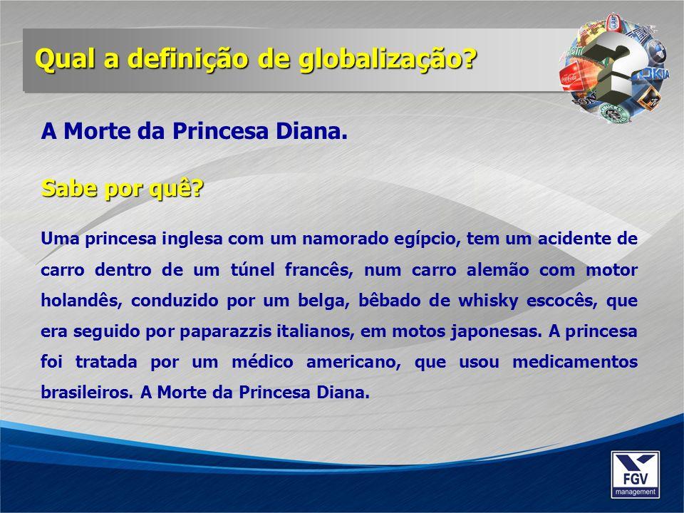 Uma princesa inglesa com um namorado egípcio, tem um acidente de carro dentro de um túnel francês, num carro alemão com motor holandês, conduzido por