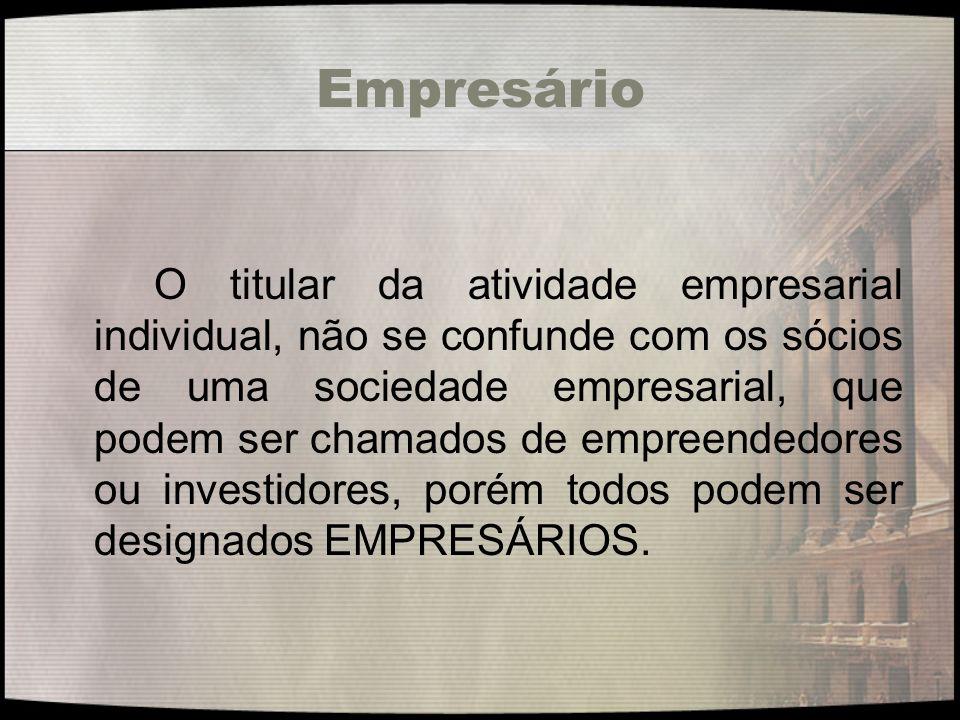 Princípios O nome empresarial é regido pelos princípios da veracidade, da novidade e da exclusividade.