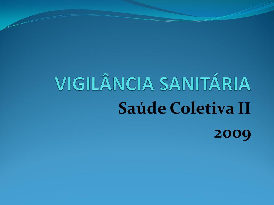 Saúde Coletiva II 2009
