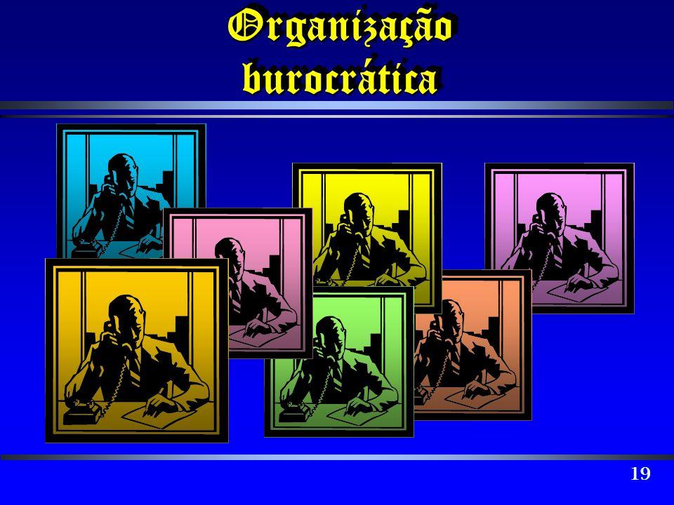 19 Organização burocrática
