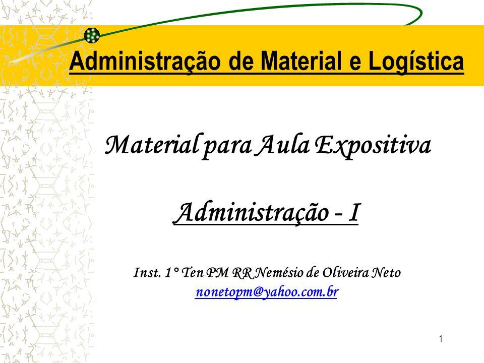 Material para Aula Expositiva Administração - I Inst.
