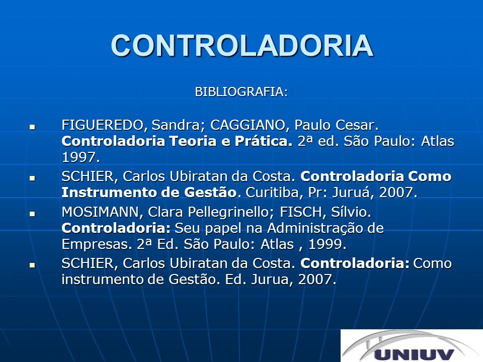 CONTROLADORIA Empresa como sistema aberto: A Missão pode ser entendida como a razão de ser da empresa.