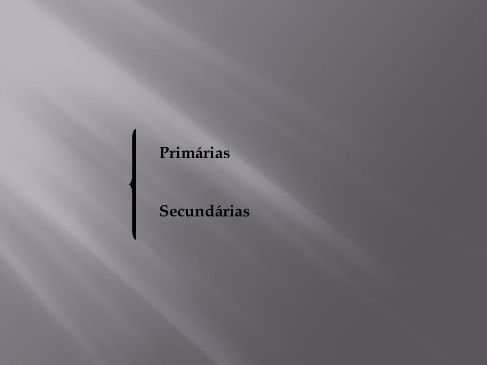Mácula; Placa Pápula; Nódulo; Séssil; Pedunculada ou pediculada; Papilar; Verrucoso; Vesícula; Bolha; Pústula; Úlcera Erosão; Fissura; Petéquia; Equimose; Telangiectasia; Fístula; Pseudomembrana; Crosta; Hiperplásica; Cisto; Unilocular e Multilocular.