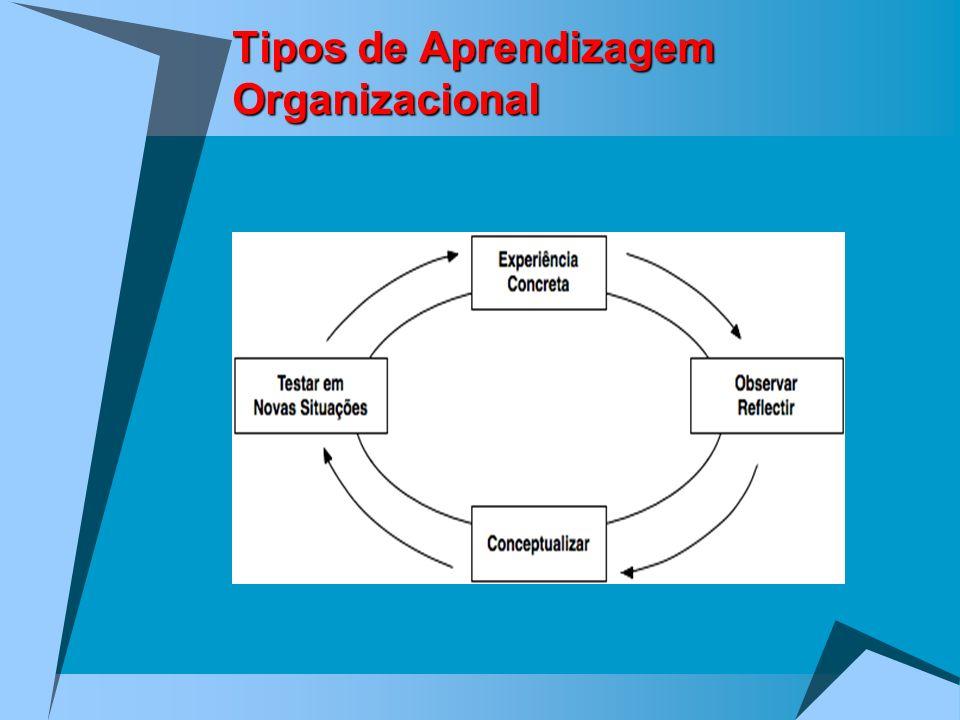 Tipos de Aprendizagem Organizacional