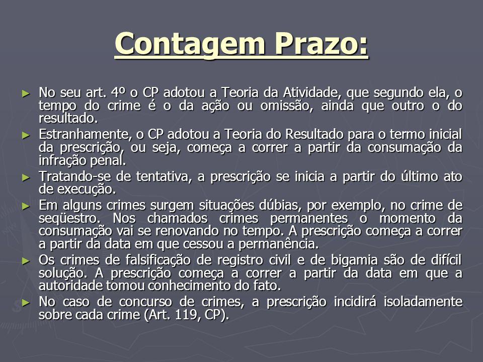 Contagem Prazo: No seu art.