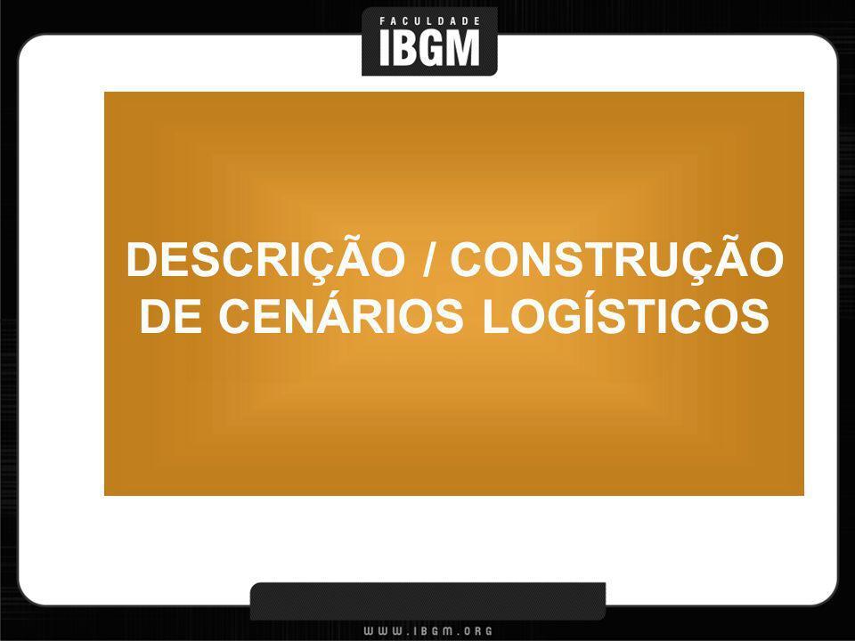 DESCRIÇÃO / CONSTRUÇÃO DE CENÁRIOS LOGÍSTICOS