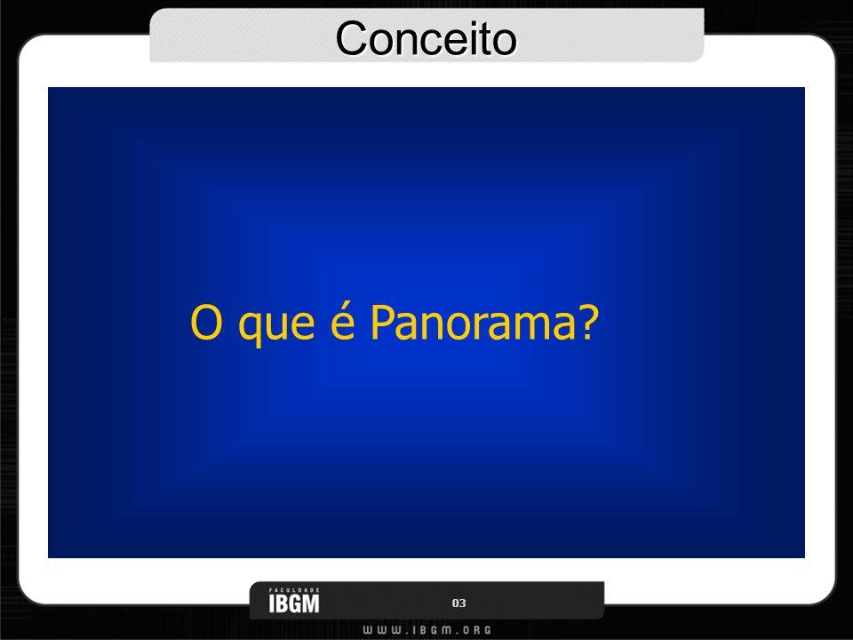 Conceito O que é Panorama? 03