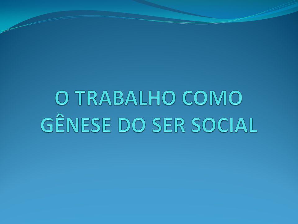 A atividade de trabalho humano é intrinsecamente atividade social.