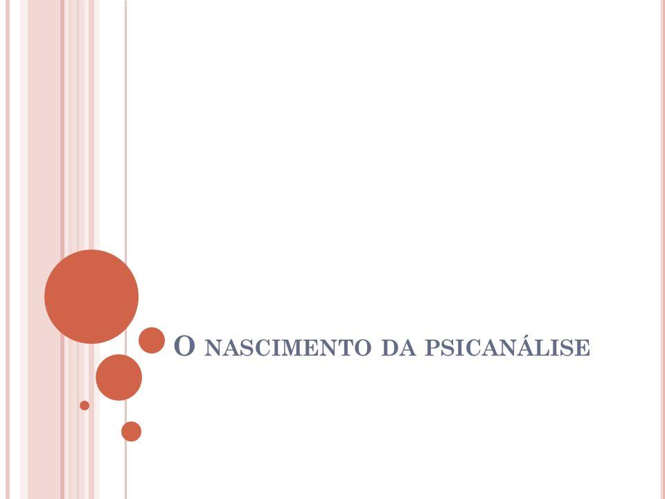 Q UESTIONAMENTOS FREUDIANOS O fracasso do modelo médico de causa e efeito para a explicação da histeria; A influência de J.