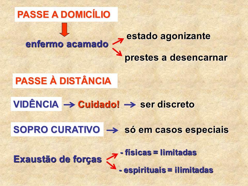 VII – COMO APLICAR PASSE (O Consolador – 99 – Emmanuel / Chico Xavier) * Não há fórmula rígida; * Não importa a fórmula exterior O BEM = ministrar em