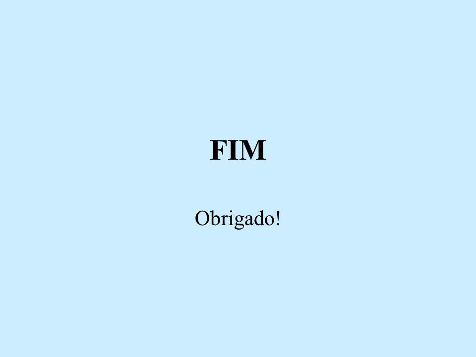 FIM Obrigado!