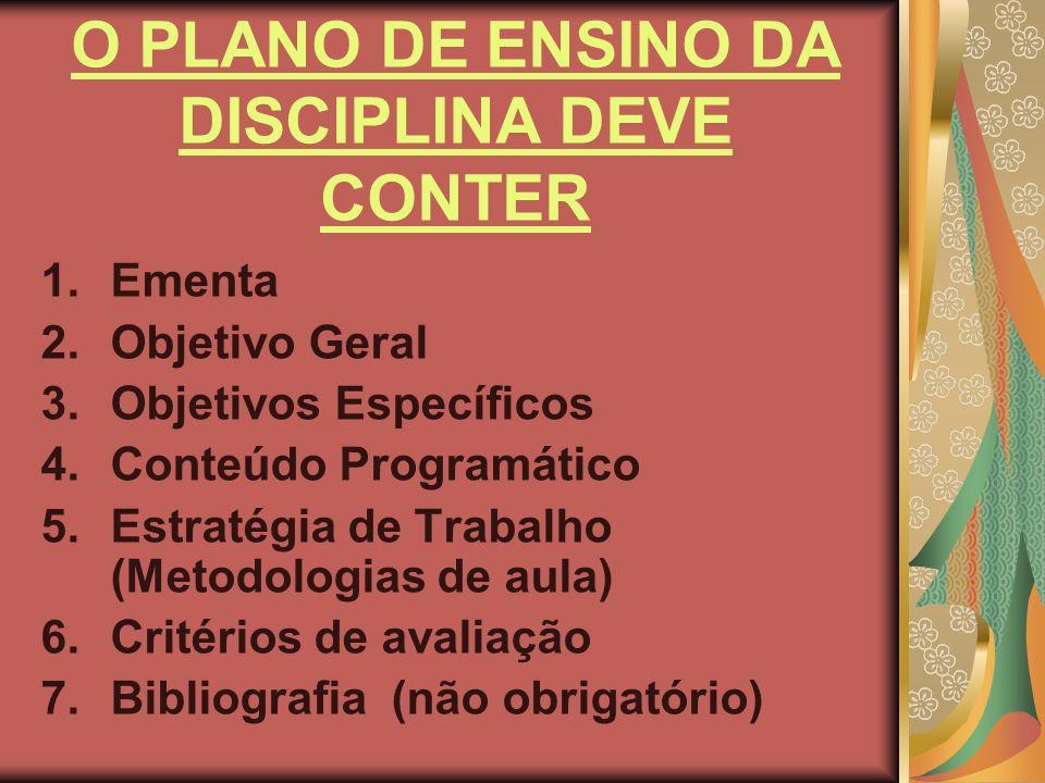 Alguns objetivos educacionais e gerais do Brasil vão auxiliar os professores a determinar seus objetivos específicos e conteúdos de ensino.