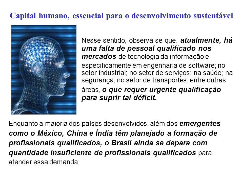 Capital humano, essencial para o desenvolvimento sustentável É comum ouvir a atitude de governantes de esperar que a próxima gestão resolva os problemas do agora.