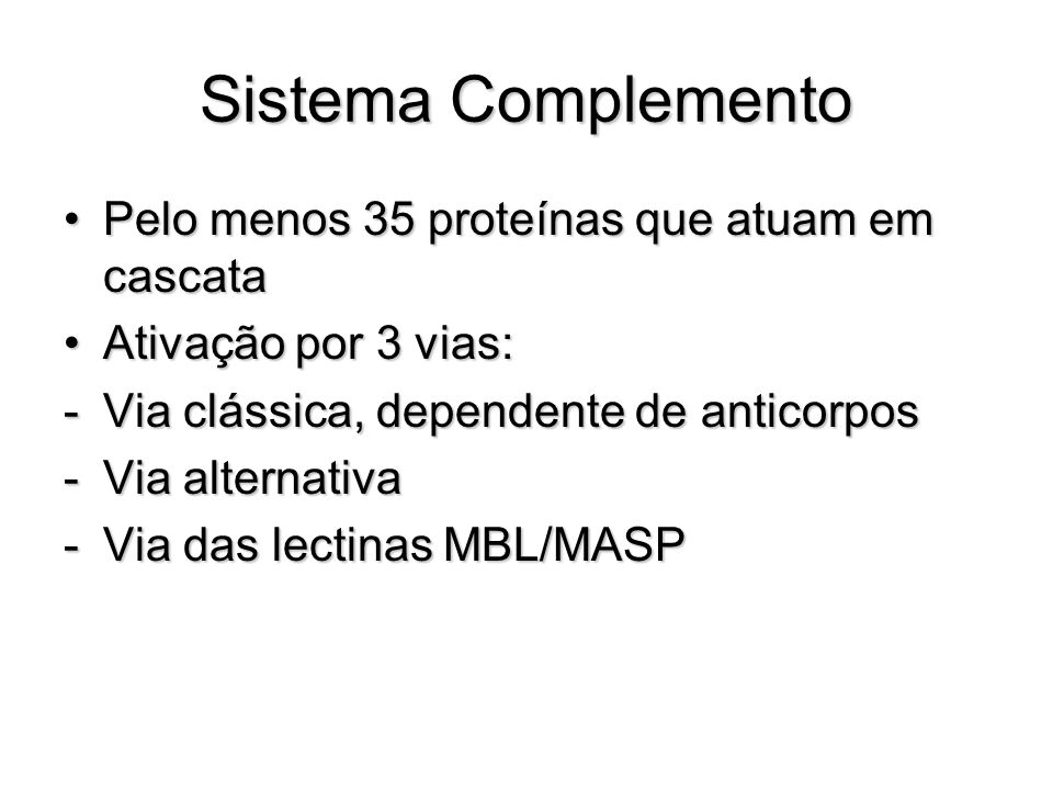 Sistema Complemento Ag-Ac MBLC3