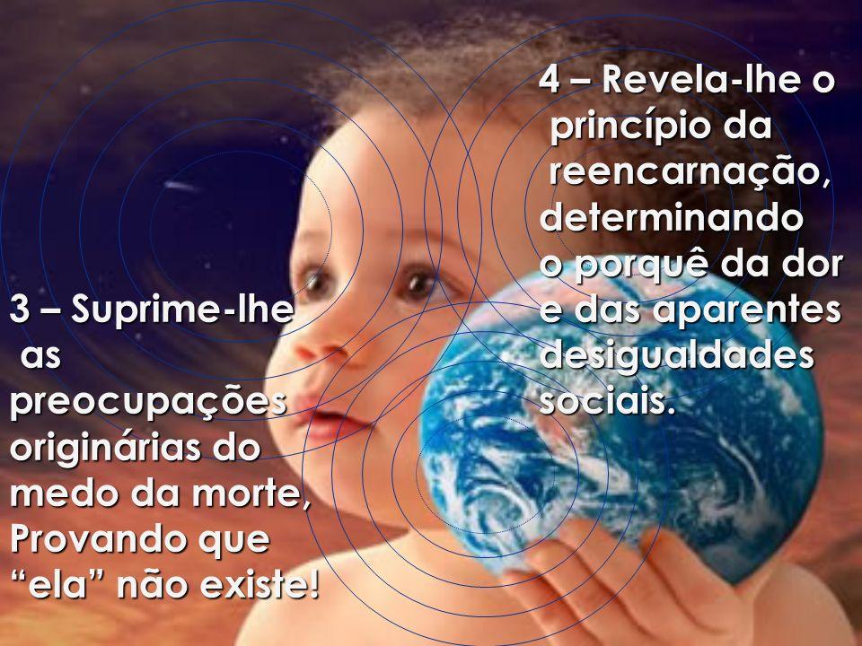 2 – Expõe o sentido real das lições do CRISTO e de lições do CRISTO e de todos os outros mentores todos os outros mentores Espirituais da humanidade, Espirituais da humanidade, nas diversas regiões do nas diversas regiões do planeta.