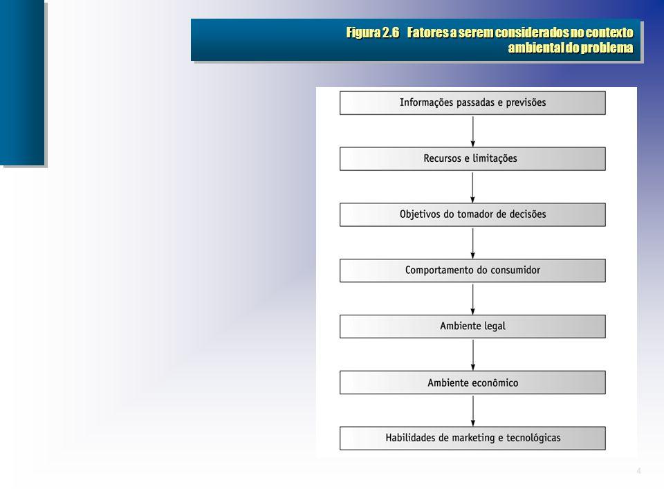 4 Figura 2.6 Fatores a serem considerados no contexto ambiental do problema